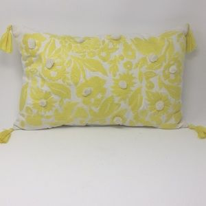 Beautiful Yellow OpalHouse Accent Pillow New